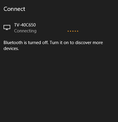 Cast to device Edge connecting