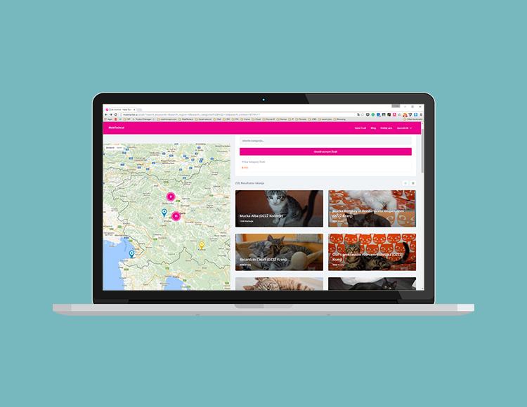 Maletacke Pet adoption laptop